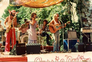 Matinee Forever performing at the Nevada County Fair in the early 1980s opening for Carrie Nation