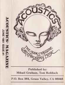 Acoustics Issue #1 June 1981
