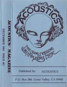 Acoustics Issue #3 Dec 1981