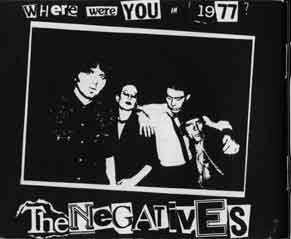 The final Negatives promo shot in 1977